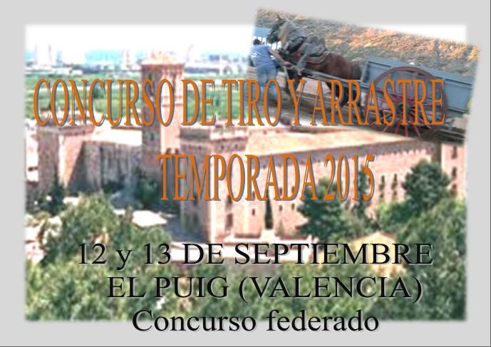 Anuncio Tiro El Puig septiembre 2015