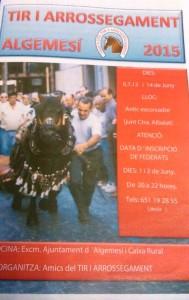 Cartel Algemesí Junio 2015-2