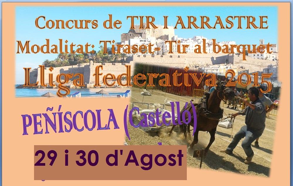 Anuncio Tiro Peñíscola Septiembre 2015
