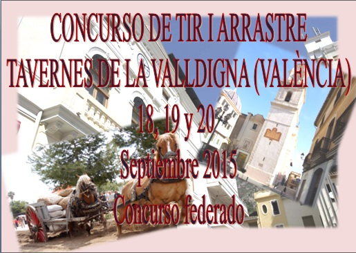 Anuncio tiro Tavernes Valldigna Septiembre 2015