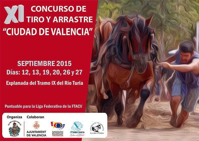 Cartel Valencia Ciudad Septiembre 2015