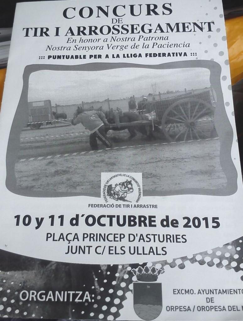 Cartel Oropesa octubre 2015 1