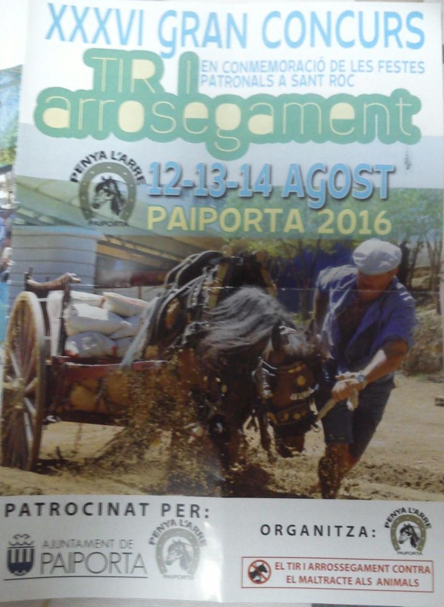 Cartel Paiporta Agosto 2016-2