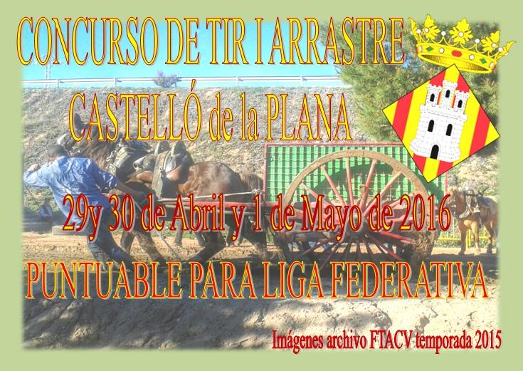 Anuncio Tiro Castelló Abril-Mayo 2016