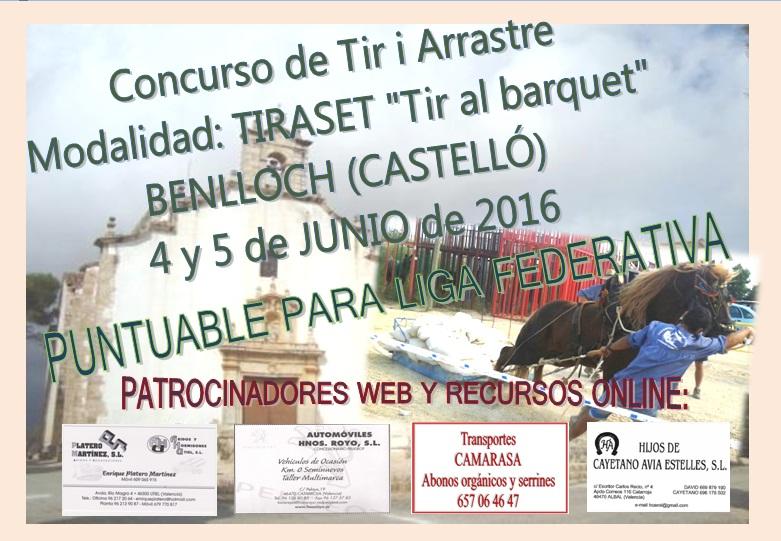 Anuncio Tiro Benlloch Junio 2016
