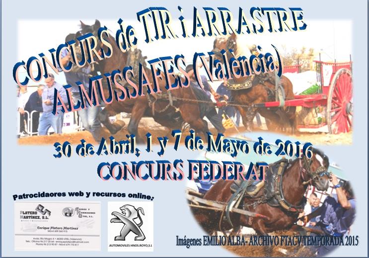 Anuncio tiro Almussafes abril-Mayo 2016