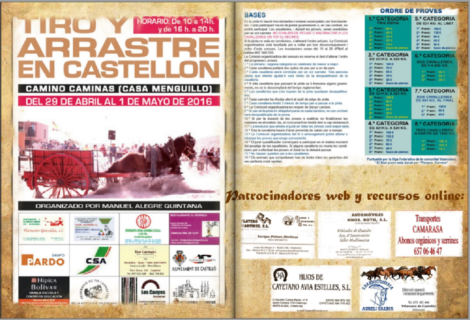 Anuncio Cartel Castelló Abril 2016