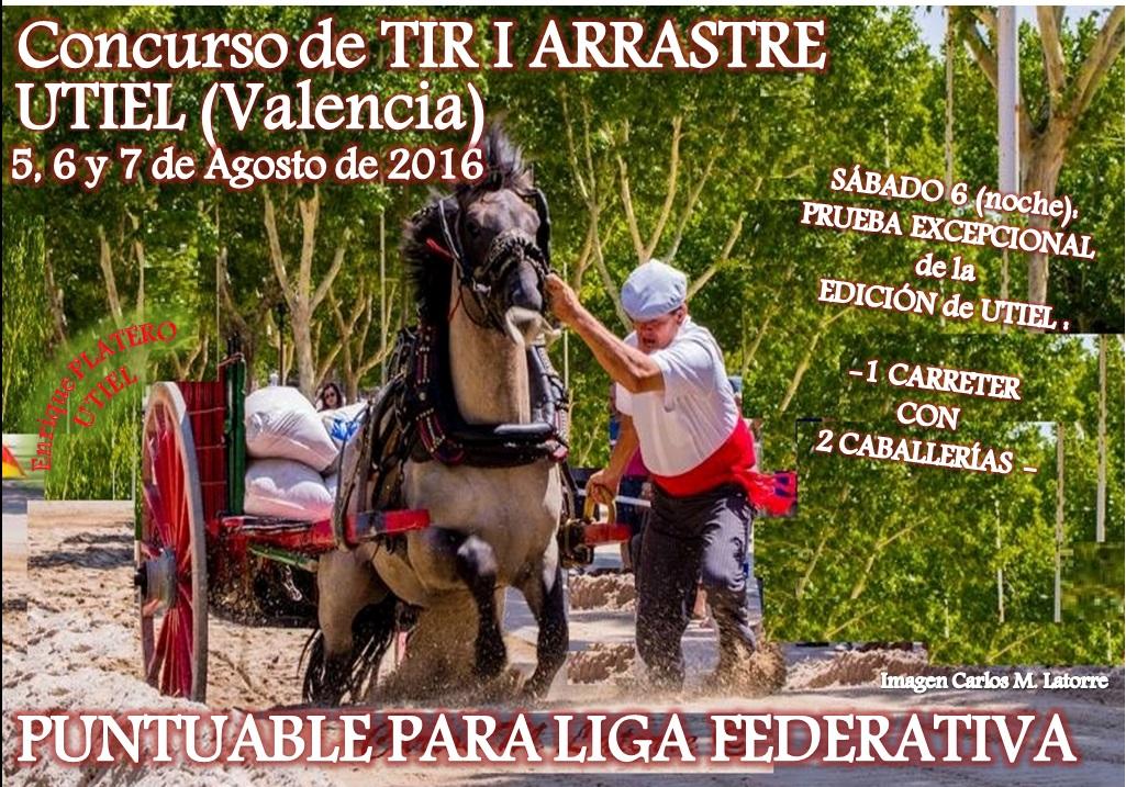 Anuncio Tiro Utiel Agosto 2016
