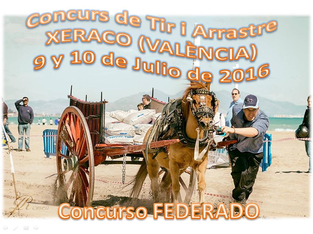 Anuncio Tiro Xeraco Julio 2016