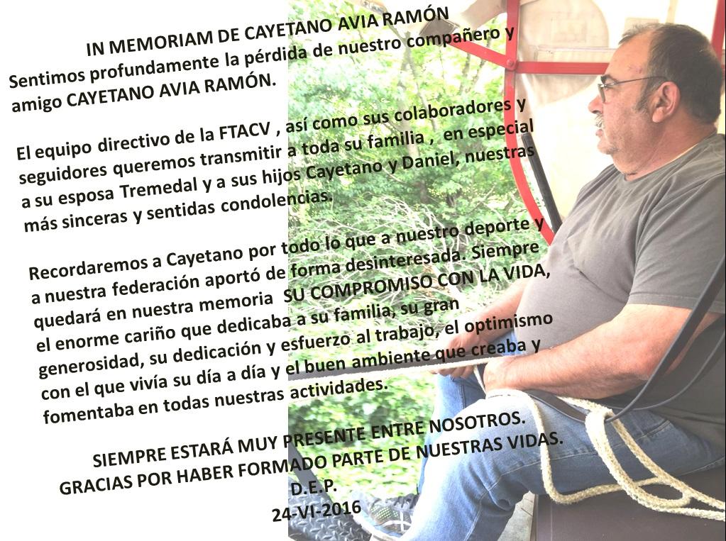 In Memoriam Cayetano