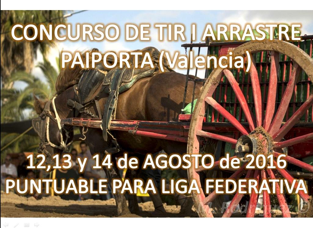 Anuncio Tiro Paiporta Agosto 2016