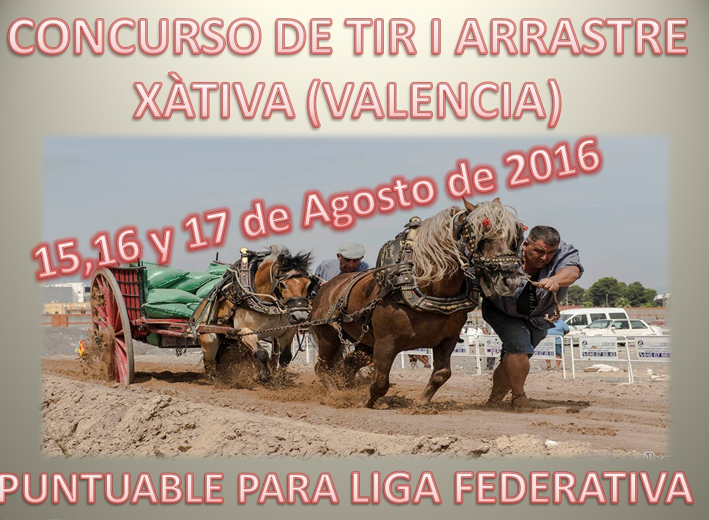 Anuncio Tiro Xàtiva Agosto 2016