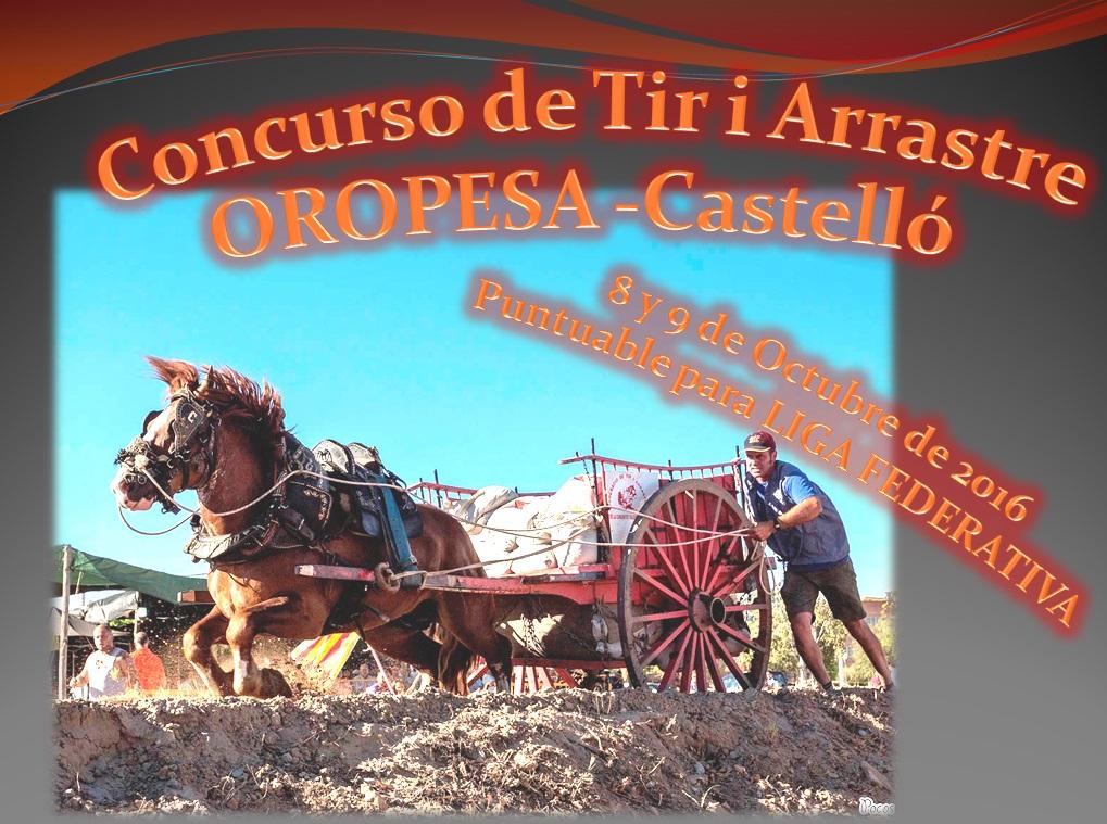 Anuncio Tiro Oropesa Octubre 2016