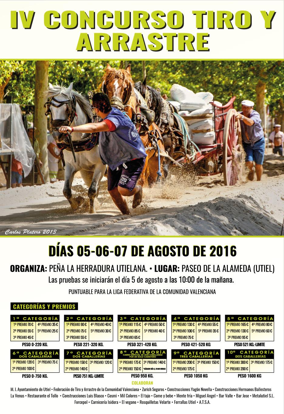 Cartel-Tiro-y-Arrastre UTIEL 2016